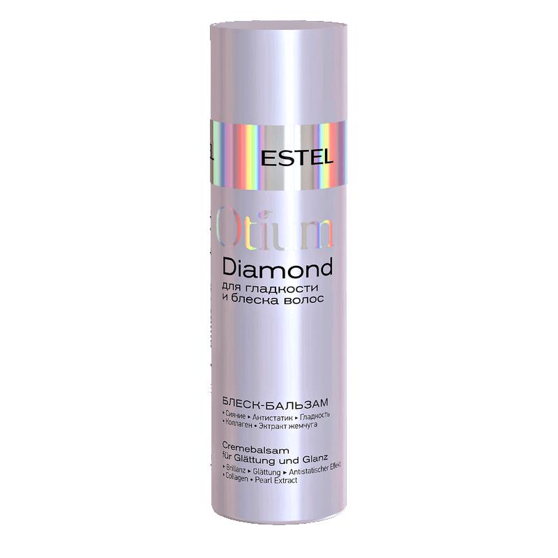 Estel Balzamas-blizgesis plaukų glotnumui ir žvilgesiui OTIUM DIAMOND