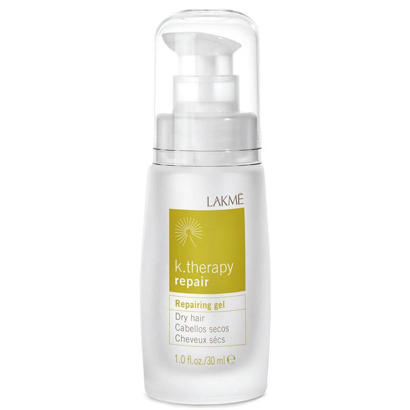 Atstatomasis gelis Lakme K.Therapy Repair Gel sausiems plaukams, 30 ml