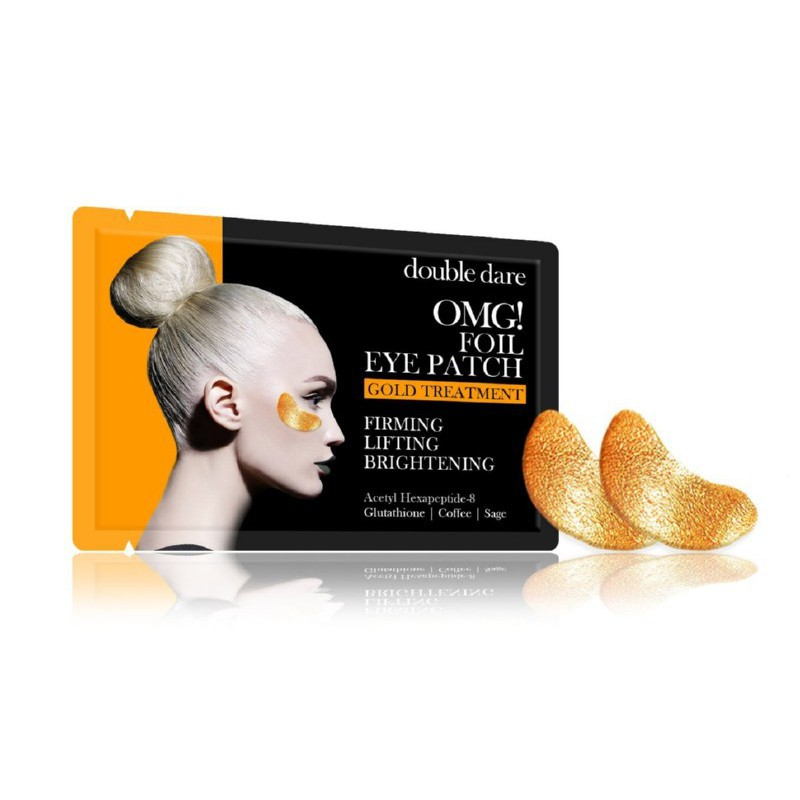 Paakių pagalvėlės OMG! Foil Eye Patch - Gold Theraphy, OMG-EP-G
