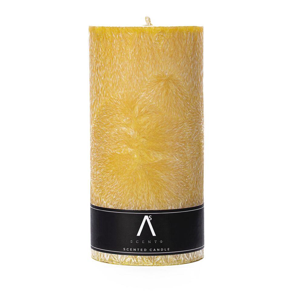 Parfumuota palmių vaško žvakė