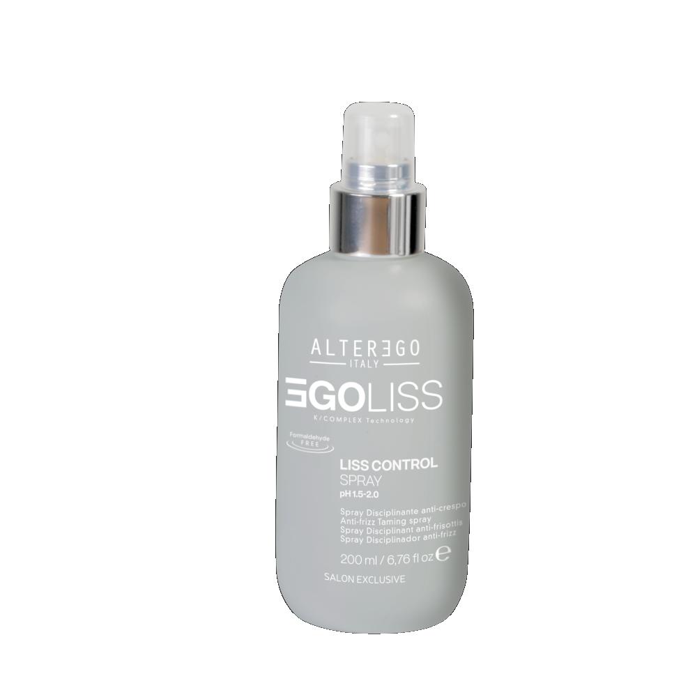 LISS CONTROL glotninamasis plaukų purškalas ir apsauga nuo karščio, 200 ml